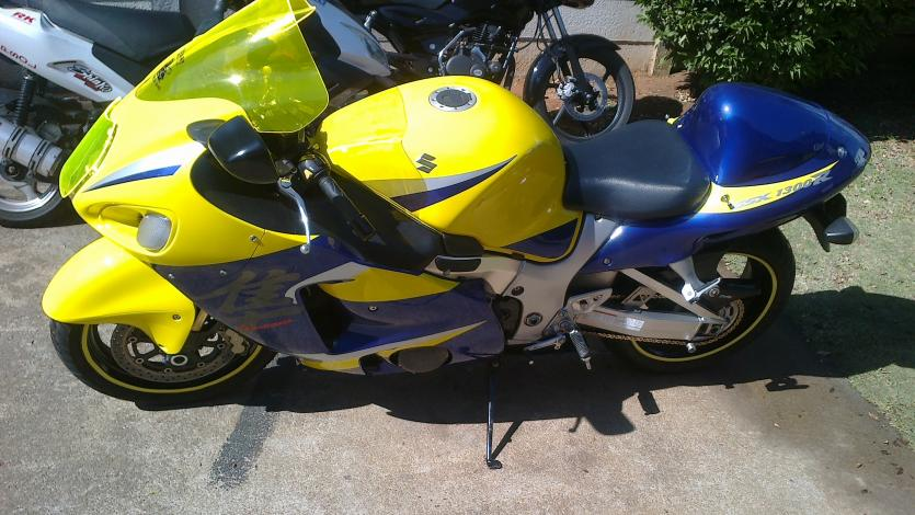 Gert Hayabusa purple & yellow